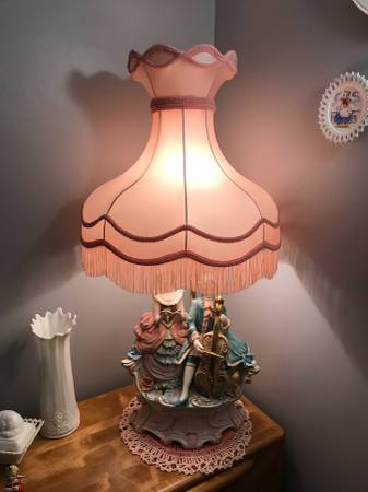 PAIR of ELEGANT FRENCH PROVINCIAL  LAMPS (Acushnet) $300