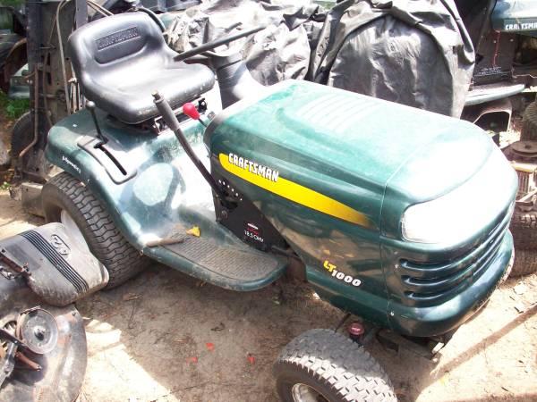 Craftsman Riding Lawn Mower Tractor LT Green (Wareham)