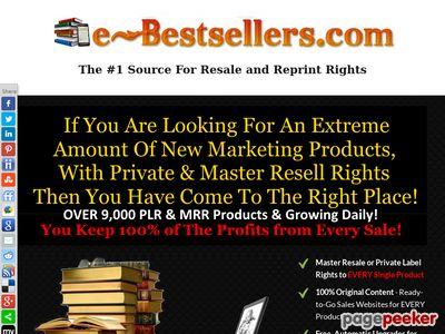 Turnkey Ebook Shop Business   Ready Made eBook Store   eBook Business for Sale