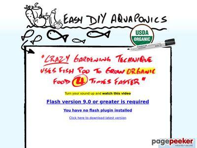 Easy DIY Aquaponics