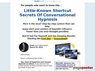 Conversational Hypnosis Video Training Crash Course