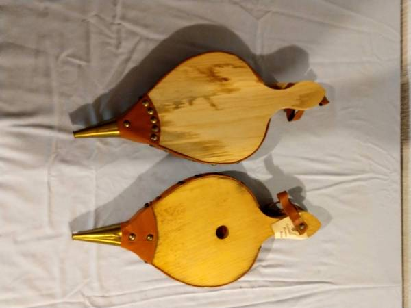 Unfinished Fireplace Bellows for decorative painting (Mattapoisett) $10
