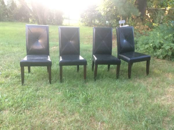 4 chairs (Taunton) $50