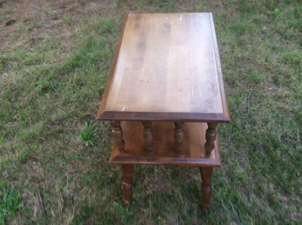Wood table (Taunton) $12