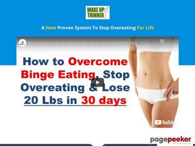 The wake up thinner program