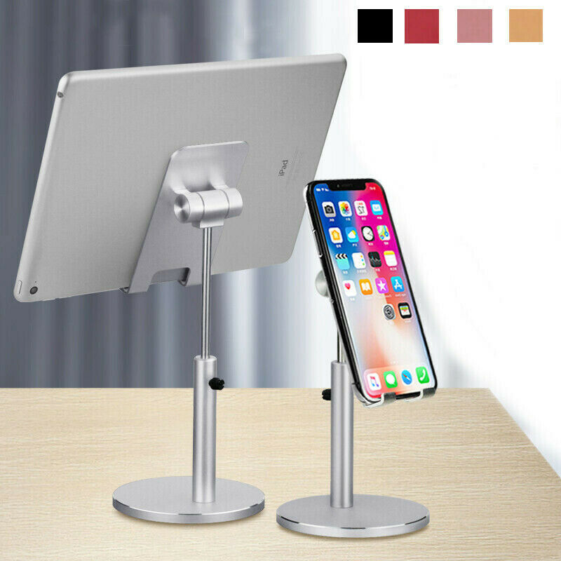 Adjustable Universal Tablet Stand Desktop Holder Mount Fr Cell Phone iPad iPhone