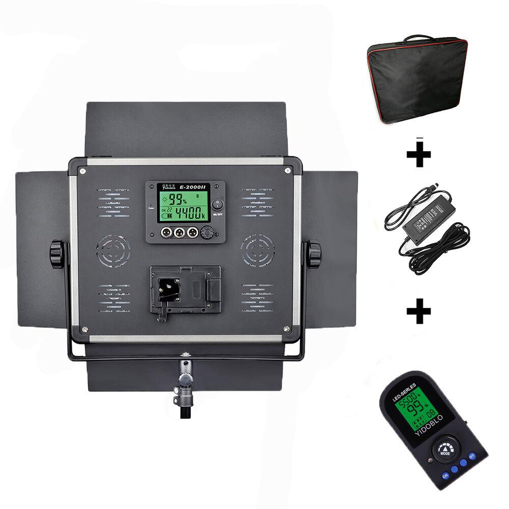 Dison E2000II LED Studio Video Lighting LED Lamp For Camera Photography with Bag