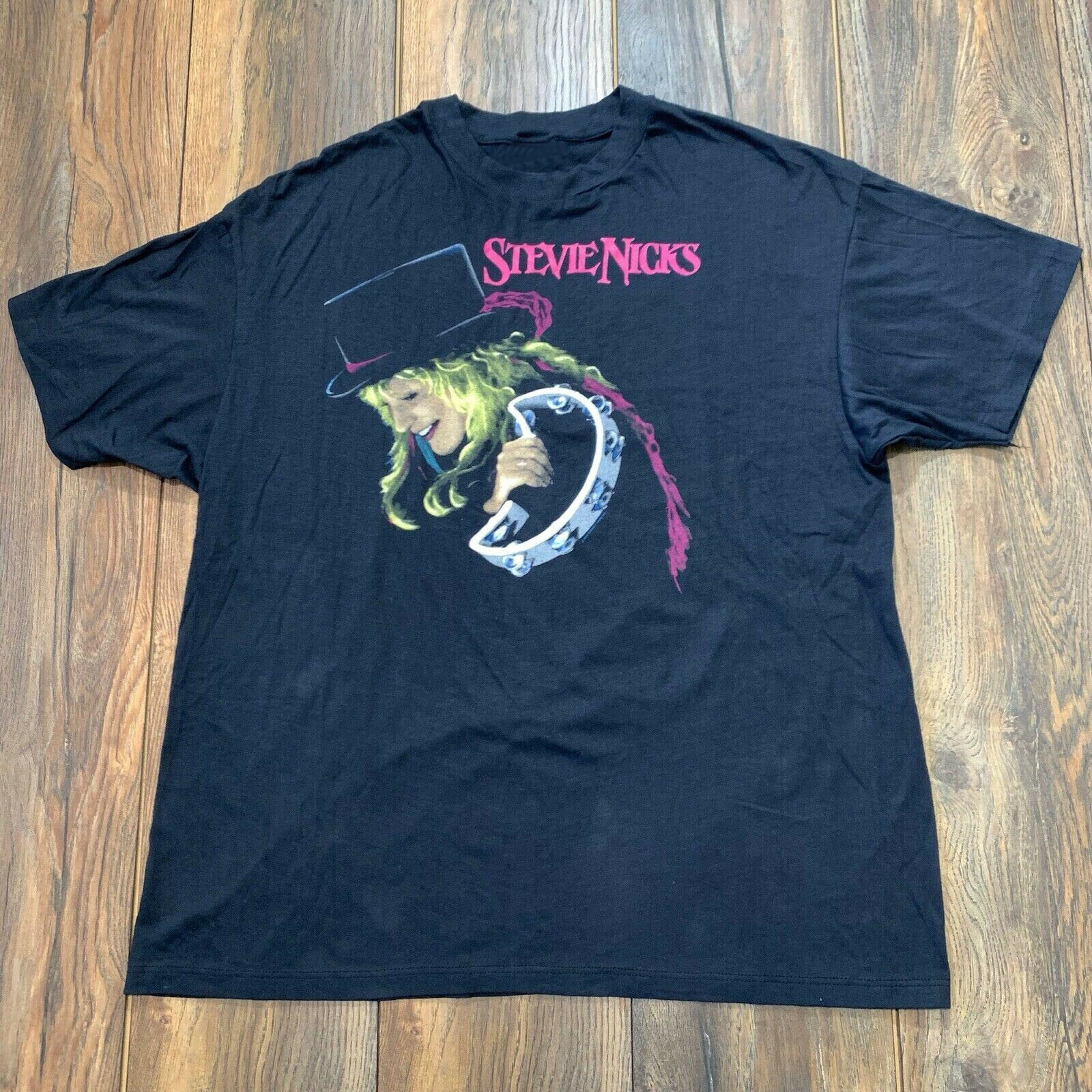 80s Stevie Nicks Other Side Of The Mirror Tour Band T Shirt##