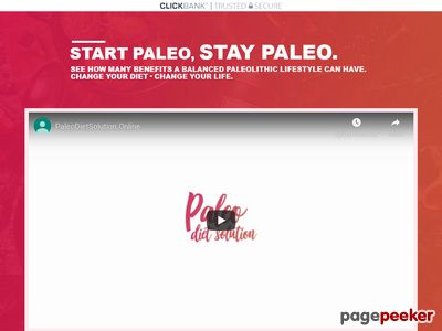 Paleo Diet Solution – 369 recipes with guides and bonuses