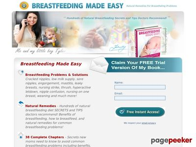 Breastfeeding Made Easy – Diet, Tips, Benefits, Problems and Natural Remedies.