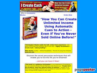 Welcome to I Create Cash
