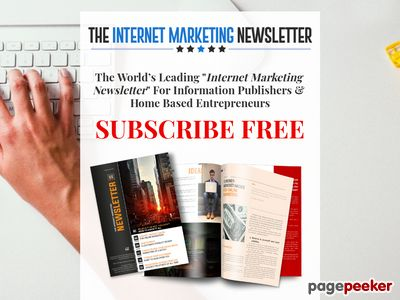 Monthly Internet Marketing Newsletter PLR Service