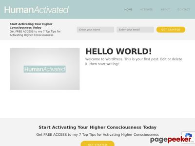 Activate1 – Human Activated