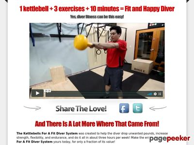 Kettlebells For A Fit Diver | Health and Fitness for the Scuba Diver using nothing but awesome kettlebell training