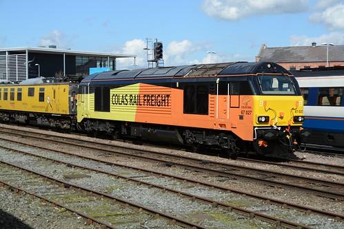 Colas Rail Class 67, 67027