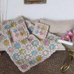 Afghan and Pillow Set