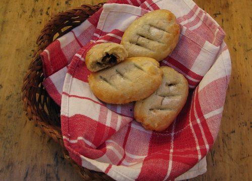Home baked Banbury buns
