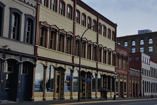 Wharf Street. Rithet Warehouses -Heritage Week - nautical theme