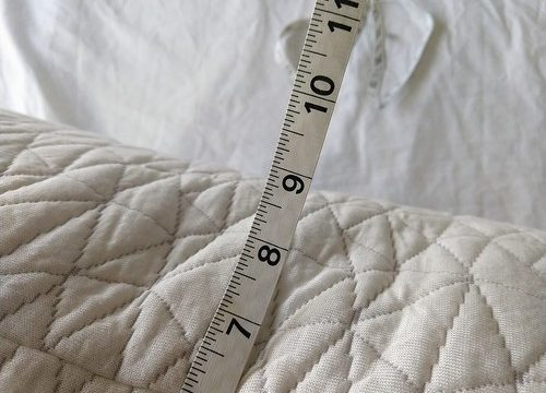 Home Goods Improved Dawn Pillow Loft Measurement