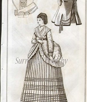 Home Dress Victorian Fashion 1871