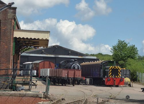 East Anglian Railway Museum - The Goods Shed to 69621