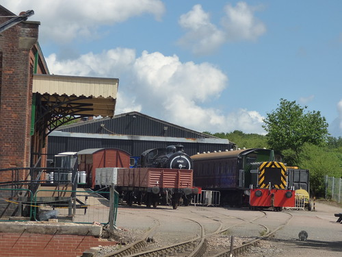 East Anglian Railway Museum – The Goods Shed to 69621