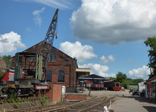 East Anglian Railway Museum - The Goods Shed