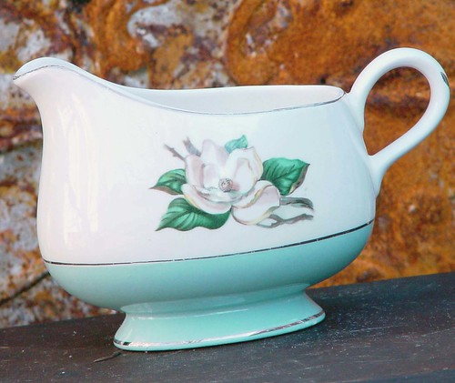 Magnolia Gravy Boat By Lifetime China