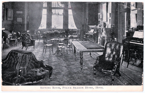 Hove - Police Seaside Home - Sitting Room Prior to 1907