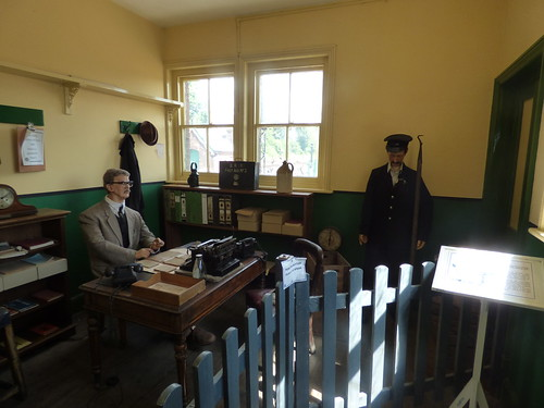 East Anglian Railway Museum – The Goods Shed – office of the Goods Clerk