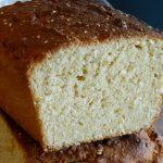 Coconut - Sesame Yogurt Cake