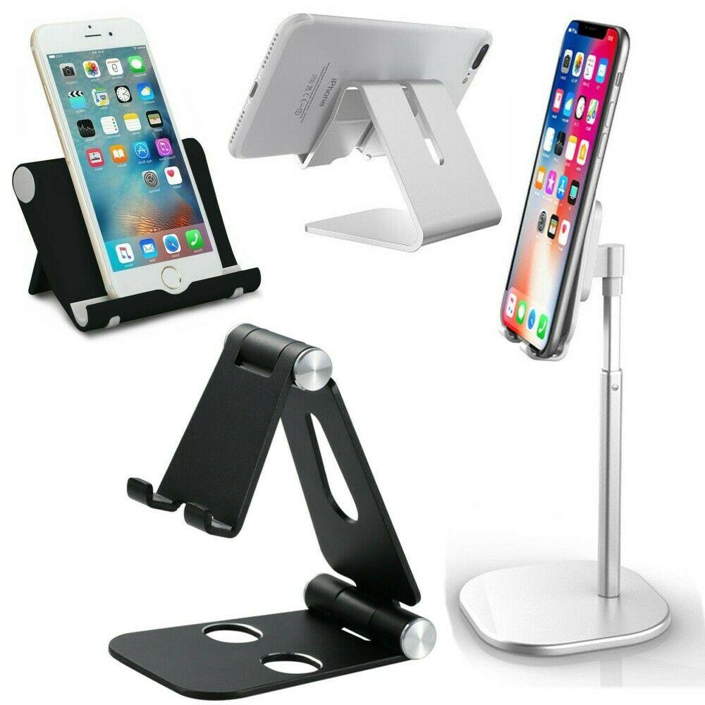 Adjustable Portable Desktop Phone Stand Desk Holder For Cellphone iPad Tablet