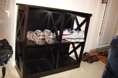Home Goods Shoe Rack