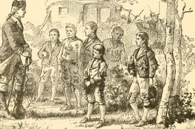 """Image from page 302 of """"A family flight around home"""" (1884)"""
