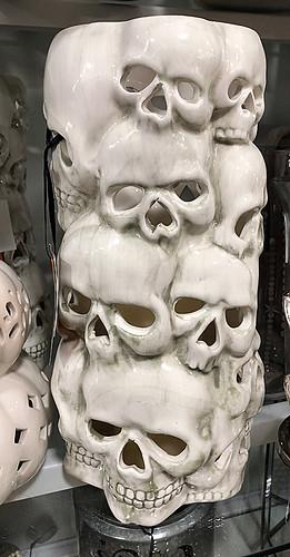 Large Skeleton Vase