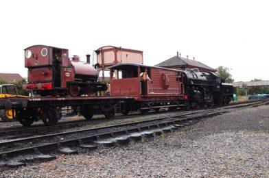 43106 reversing freight – Severn Valley Railway 2013