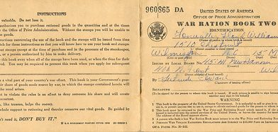 War Ration Book Two