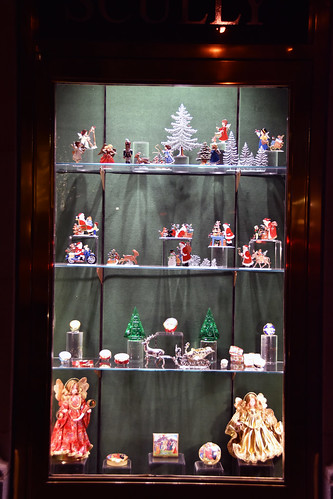 Picture Of 2015 Holiday Window 2 Of Scully & Scully Located At 504 Park Avenue At 59th Street In New York City. Scully & Scully Is A High End Home Goods Store. Photo Taken Friday December 18, 2015