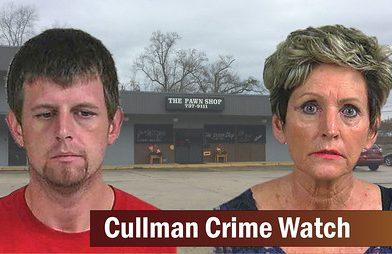 CULLMAN POLICE SERGEANT ADAM CLARK SOLVES COMPLEX CASE INVOLVING FORGERY, THEFT, RECEIVING STOLEN GOODS