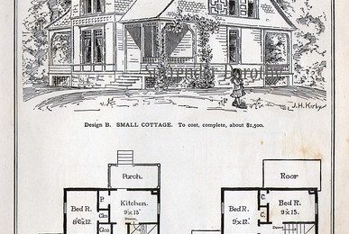 1881 Plan B Small Cottage