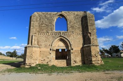 Abandoned Architecture, Walled City, Famagusta, Turkish Republic Of North Cyprus.
