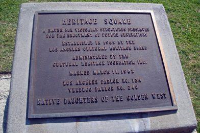 01 Heritage Square Museum – Plaque (E)