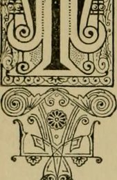 """Image from page 257 of """"Our homes and their adornments;"""" (1884)"""