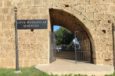 Arched Gate, Cifte Mazgallar Sehitligi, Walled City, Famagusta, Turkish Republic Of North Cyprus.