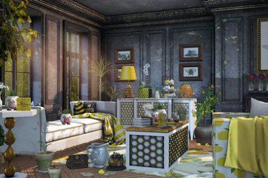 Look 1293  – Honey and Lemon