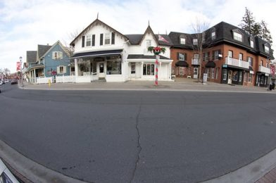 Unionville Ontario ~ Canada ~ Isla Home  ~  Historic Landmark ~ Fish Eye Lens