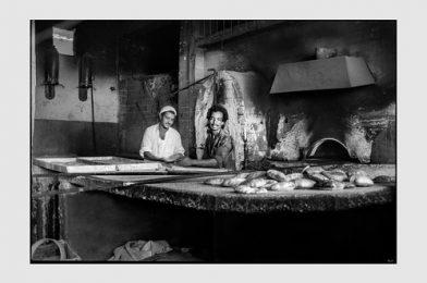 Baker and assitant, Aswan Egypt – August 1981